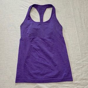Lululemon Women's Purple Racerback Tank Top